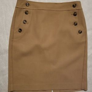 Camel Color Loft Skirt